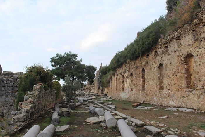 Сиедра античный город. Аланья.