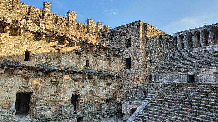 Аспендос aspendos antique city Serik Antaliya