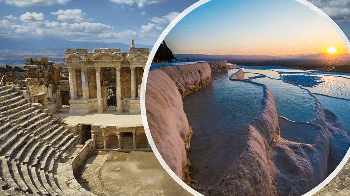 Памуккале и древний город Иераполис