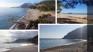 konyaaltı plaj ve piknik alanları