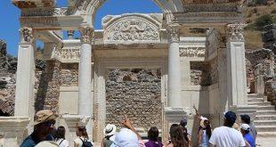 Первые туристы в Турции