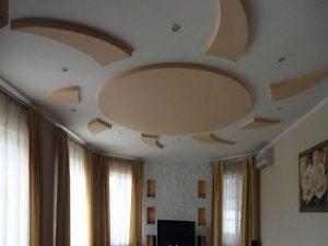 Потолки из гипсокартона в Алании
